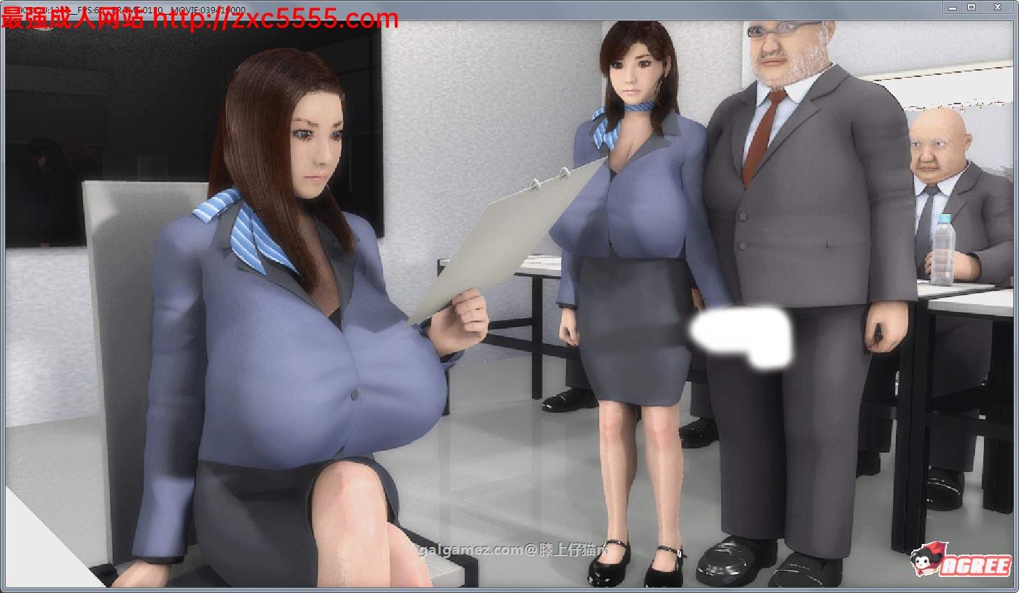 【3D/互动/全动态】爆茹女秘书:任意妄为的エロ董事会工作会议!【2.8G】 3
